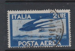Italy Republic PA 127 1945-46 Serie Democratica,2 Lire Blue,used - 1946-.. République