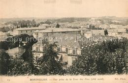 13562648 Montpellier_Herault Vue Prise De La Tour Des Pins Montpellier Herault - Montpellier