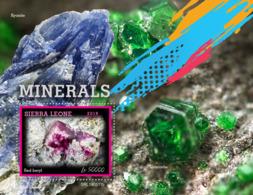 Sierra Leone 2019 Minerals   S201907 - Sierra Leone (1961-...)