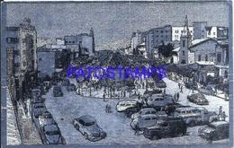 118223 BOLIVIA LA PAZ AVENIDA 16 DE JULIO METALIZADA METALLIZED BREAK POSTAL POSTCARD - Bolivia