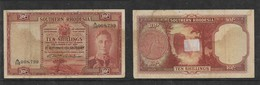 Southern Rhodesia, GVIR, 1950, 10/- Banknote - Rhodesia