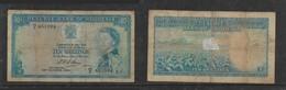 Southern Rhodesia, EIIR, 1964, 10/- Banknote - Rhodesia