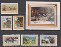 Albania Scott 1211-1217 1969 Paintings Mint Never Hinged - Albania