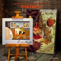 Togo  2019  Frida Kahlo, Paintings   S201907 - Togo (1960-...)