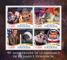 Togo  2019   Richard F. Gordon Jr, Astronaut Space   S201907 - Togo (1960-...)