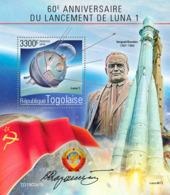 Togo  2019    Launch Of Luna 1 ,space   S201907 - Togo (1960-...)