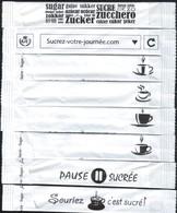 """Algérie - Sucre GENERAL  UNIT  """"GU Algérie""""-  8 Sticks De Sucre Vides - - Zucchero (bustine)"""