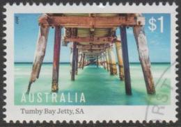 AUSTRALIA - USED 2017 $1.00 Australian Jetties - Busselton Jetty, Western Australia - 2010-... Elizabeth II