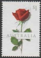 AUSTRALIA - USED 2017 $1.00 Special Occasions - Red Rose - Flower - 2010-... Elizabeth II