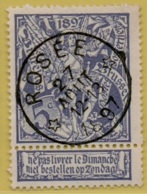 +MW-4261   *  ROSEE  *    Sterstempel OCB 71   COBA     + 25     ZELDZAAM OP DEZE UITGIFTE - 1894-1896 Expositions