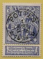 +MW-4281    *   POTTES  *     Sterstempel OCB 71   COBA     + 15    ZELDZAAM OP DEZE UITGIFTE - 1894-1896 Expositions