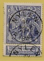 +MW-4284    *   NYLEN *     Sterstempel OCB 71   COBA     + 15    ZELDZAAM OP DEZE UITGIFTE - 1894-1896 Expositions