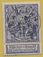 +MW-4287    *   MARCOUR  *     Sterstempel OCB 71   COBA     + 15     ZELDZAAM OP DEZE UITGIFTE - 1894-1896 Expositions