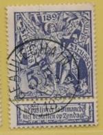 +MW-4298    *   BEAUVECHAIN  *     Sterstempel OCB 71   COBA     + 10    ZELDZAAM OP DEZE UITGIFTE - 1894-1896 Expositions