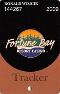 Fortune Bay Casino - Tower, MN - Tracker Level Slot Card - Casino Cards