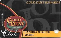 Gold Dust Casino Deadwood, SD - Slot Card - Mentions Expires After 12 Months Of Inactivity - No Mfg Mark - Casino Cards