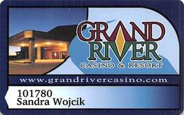 Grand River Casino - Mobridge SD - Slot Card With (I) Over Mag Stripe - Casino Cards
