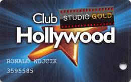 Hollywood Casino - Lawrenceburg, IN - Slot Card With Studio Gold Sticker - Casino Cards