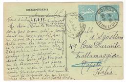 21172 - Pour L'Italie - Poststempel (Briefe)