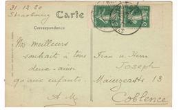 21184 - Paire De Carnet - Postmark Collection (Covers)