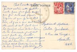 21194 - GROUPEMENT DE  JEUNESSE  N° 88 - Marcophilie (Lettres)