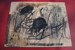 Ivan Koschmider Oeuvre Originale Signée Artiste Allemand Technique Mixte Papier Peinture Toile Originale Modern Art - Non Classificati