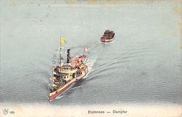 Bodensee Dampfer - Boot -  Dampfschiff - Steamboat - Boat -  Barca - Vapeur - Bateau - Deutschland