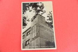 Genova Val Fontanabuona Tribogna La Casa Littoria Del Fascio 1943 Foto Foppiano + Lieve Segno Di Piega A Destra Alto - Altre Città