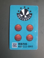 Walmon Children's Basketball Club Promotion Card - Schede Telefoniche