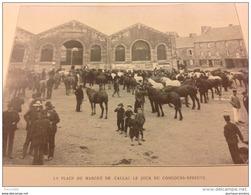 1911 CALLAC (22) PLACE DU MARCHE SURVIE DU BIDET BRETON / TOUQUET PARIS PLAGE / ASINODROME ET COURSES D'ANES / DEAUVILLE - Livres, BD, Revues