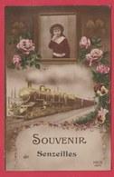 Senzeilles - Souvenir De ... Carte Fantaisie - 1919 ( Voir Verso ) - Cerfontaine