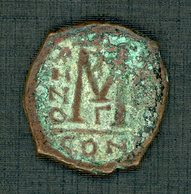 Justinus 2  465 /578  Bronze   Follis - Byzantine
