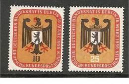 BlnMi.Nr.136-37**/1956 Bundesrat, Sitzung - Ongebruikt