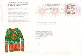 Entier Postal Noël 2018 - Circulé - 1953-.... Règne D'Elizabeth II