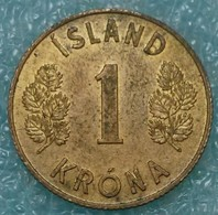 Iceland 1 Krona, 1962 -1073 - Islandia