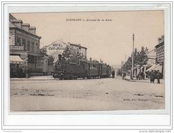 SOISSONS - Avenue De La Gare - CBR - TRAIN - Très Bon état - Soissons