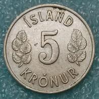 Iceland 5 Kronur, 1969 -2254 - Islandia