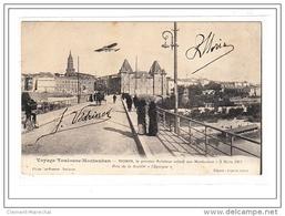 TOULOUSE-MONTAUBAN : Morin, Le Premier Aviateur Volant Sur Montauban 9 Mars 1911 (verdrines) - Tres Bon état - Francia