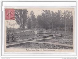 AULNAY-sous-BOIS : Le Canal Et La Passerelle - Tres Bon Etat - Aulnay Sous Bois