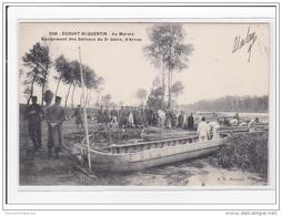 ECOURT-St-QUENTIN : Au Marais, Equipement Des Bateaux Du 3e Génis, D'arras - Tres Bon Etat - Francia