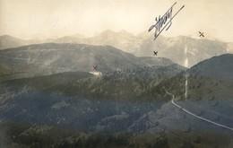 06 - Carte Photo - Vue Aérienne - Cabane Vieille (2000 M D'altitude) Camp D Plan Caval - (recto : Verso) - France