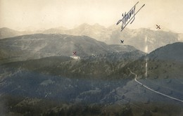 06 - Carte Photo - Vue Aérienne - Cabane Vieille (2000 M D'altitude) Camp D Plan Caval - (recto : Verso) - Francia