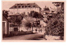 REF 372 : CPA 24 EXCIDEUIL Collège Moderne De Jeunes Filles - France