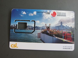 CSL GSM SIM Card, Hong Kong Tourism Board, No Chip,only Frame - Hongkong