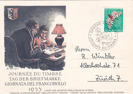 Journée Du Timbre 1953 - Genève - Timbre Pro-Juventute N° 540 - Pro Juventute