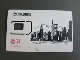 GSM SIM Card, We Love Travel, No Chip,only Frame - Hong Kong