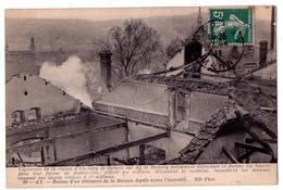 5315 - Ay ( 51 ) - Bâtiment De La Maison Ayala Après L'incendie - N.D. Phot. - N+26 - - Ay En Champagne
