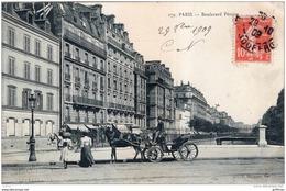 PARIS XVIIe BOULEVARD PEREIRE 1909 TBE - Distretto: 17