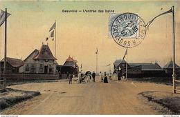DEAUVILLE : L'entrée Des Bains - Tres Bon Etat - Deauville