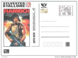 EPC SBERATEL 2016 Affiche Du  Film Avec Sylvester Stallone : Rambo I - Entiers Postaux